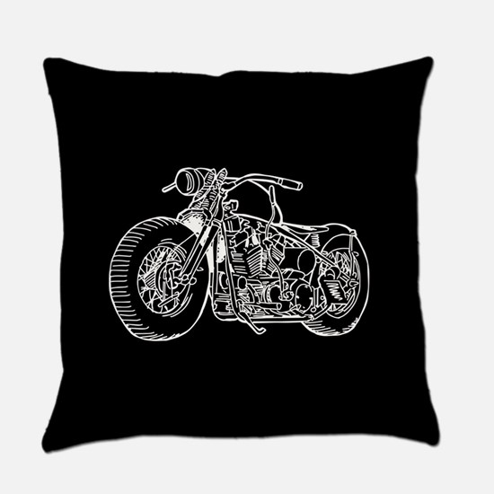 Motorcycle Everyday Pillow