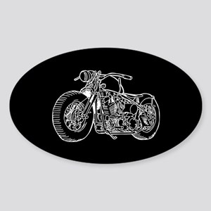 Motorcycle Sticker (Oval)