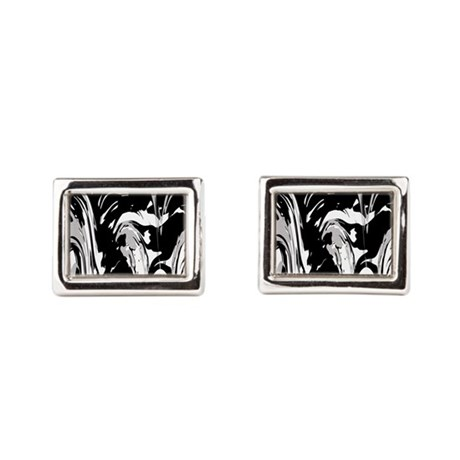 Fusion Art Rectangular Cufflinks