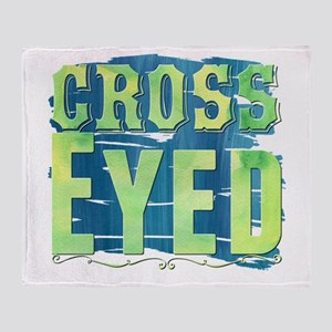 Cross Eyed Throw Blanket