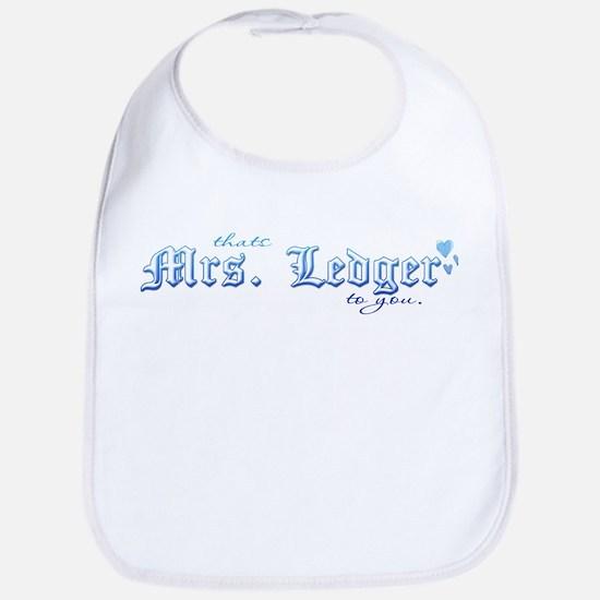 Mrs. Ledger Bib