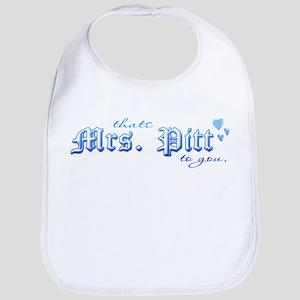 Mrs. Pitt Bib