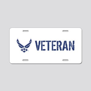 USAF: Veteran Aluminum License Plate