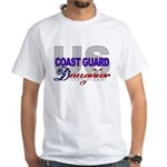 US Coast Guard Daughter White T-Shirt