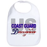 US Coast Guard Daughter Bib