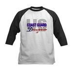 US Coast Guard Daughter Kids Baseball Jersey