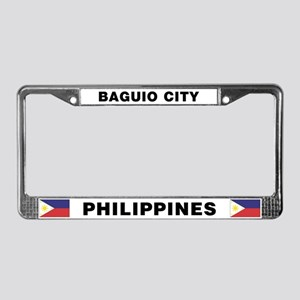 Baguio City Philippines License Plate Frame