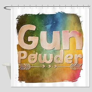Gun Powder Shower Curtain