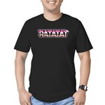 Ratatat. Men's Fitted T-Shirt (dark)