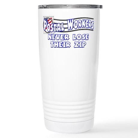 Postal Worker Stainless Steel Travel Mug