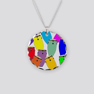Rainbow Conga Necklace