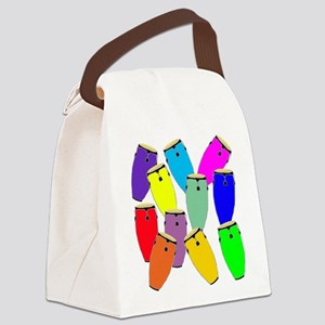 Rainbow Conga Canvas Lunch Bag