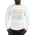 Abstract Arabic Long Sleeve T-Shirt