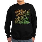Abstract Arabic Sweatshirt (dark)