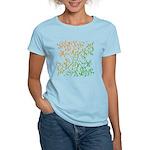 Abstract Arabic Women's Light T-Shirt