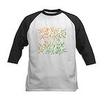 Abstract Arabic Kids Baseball Jersey