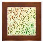Abstract Arabic Framed Tile