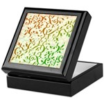 Abstract Arabic Keepsake Box