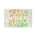 Abstract Arabic Rectangle Magnet