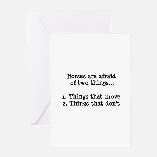 Unique Horses Greeting Cards (Pk of 10)