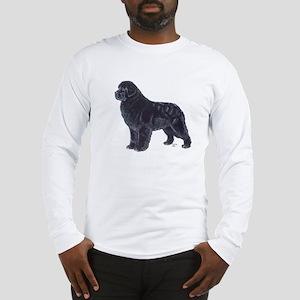 Newfoundland Black Long Sleeve T-Shirt