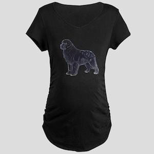 Newfoundland Black Maternity Dark T-Shirt