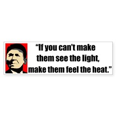 Ronald Reagan Quote - If they Bumper Sticker