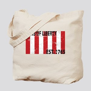 Sons of Liberty Est. 1765 Tote Bag