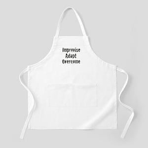 Improvise. Adapt. Overcome BBQ Apron