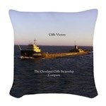 Cliffs Victory Woven Throw Pillow