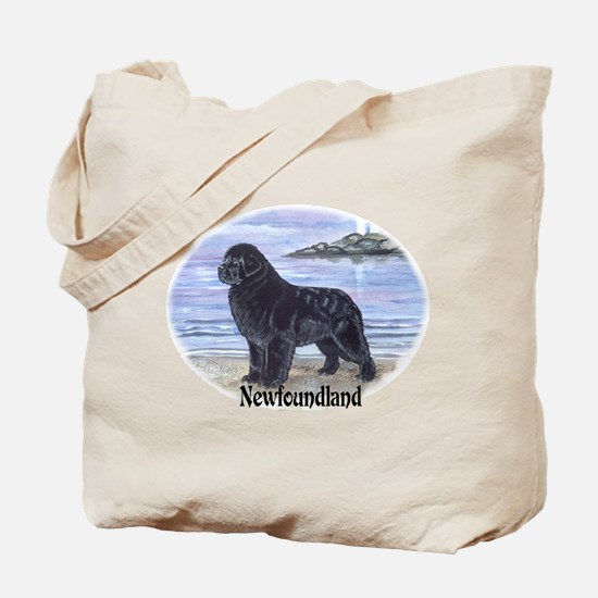 Newfoundland Dawn Patrol Tote Bag
