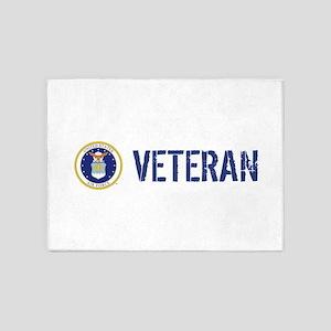 USAF: Veteran 5'x7'Area Rug
