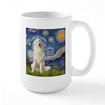 Starry Night / Pyrenees Large Mug