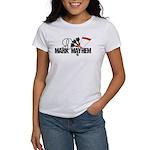 9 Mark Mayhem Darts Women's Classic White T-Shirt