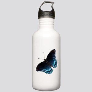 Red Spotted Purple But Stainless Water Bottle 1.0L
