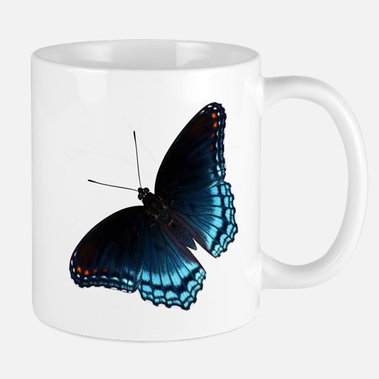 Red Spotted Purple Butterfly Mugs