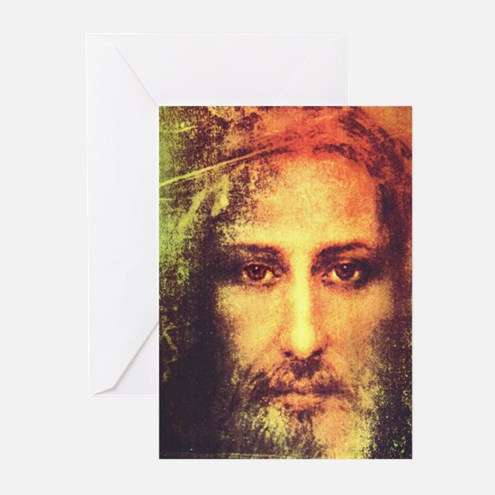 Image of Christ Greeting Cards