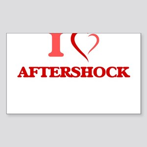 I Love Aftershock Sticker