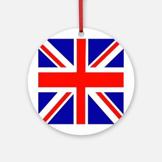 London Union Jack Ornament (Round)