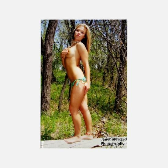 Sexy Lauren Rectangle Magnet