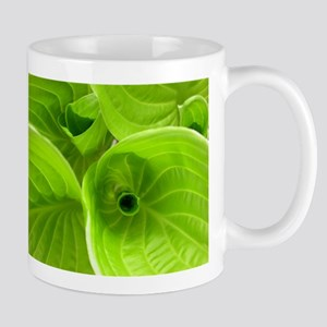 Unfurling Hostas Mug