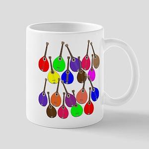 Rainbow Mandolins Mugs