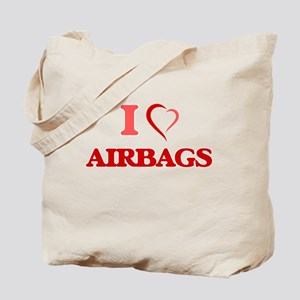I Love Airbags Tote Bag