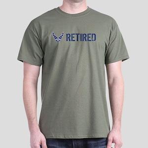 USAF: Retired Dark T-Shirt