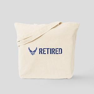 USAF: Retired Tote Bag