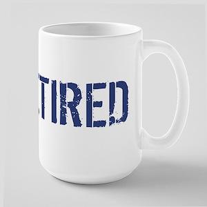 USAF: Retired Large Mug