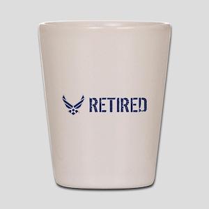 USAF: Retired Shot Glass