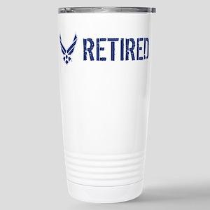 USAF: Retired Stainless Steel Travel Mug