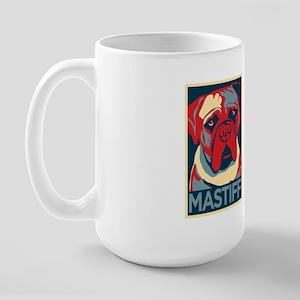 Vote Mastiff! - Large Mug
