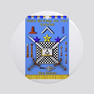 Valley-Hi Lodge Ornament (Round)